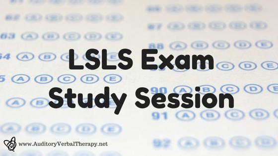 LSLS Exam Study Session