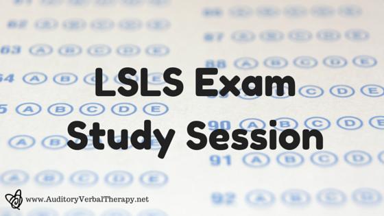LSLS Exam Study Session