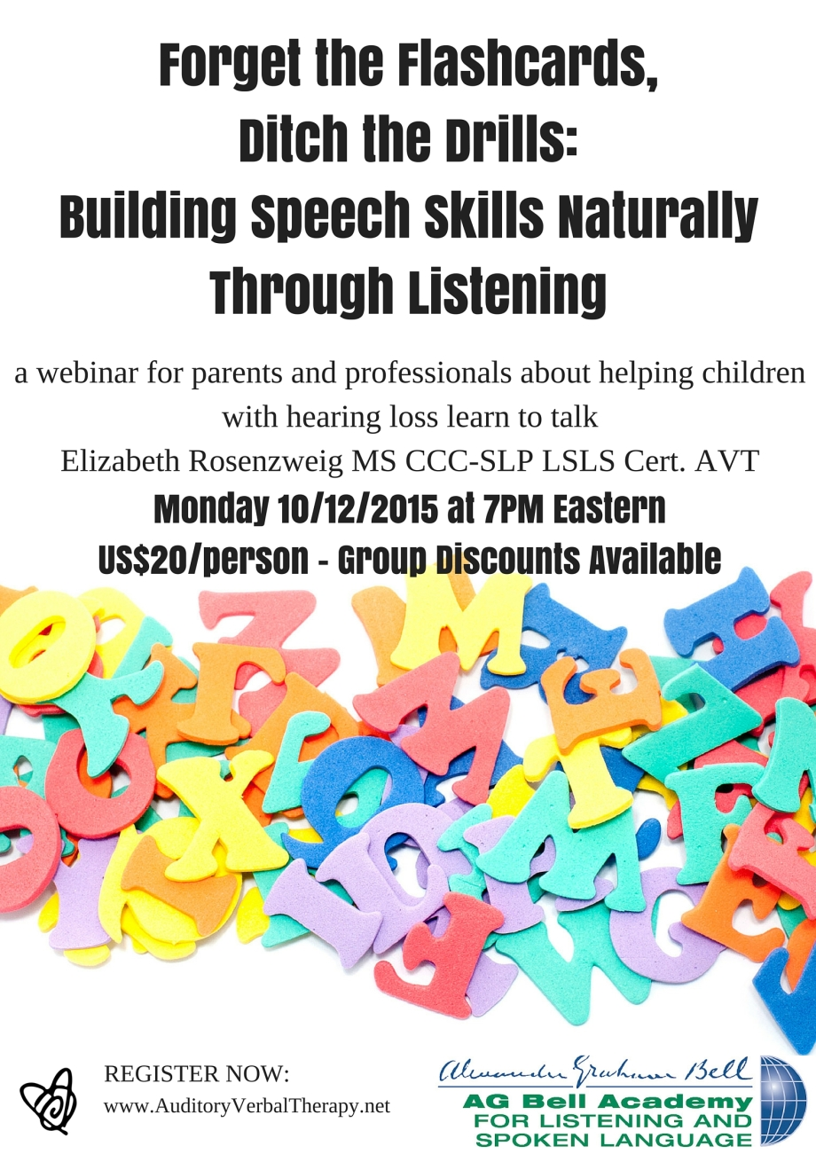 Speech Skills Flyer